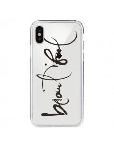 Coque Beautiful Transparente pour iPhone X - Dricia Do