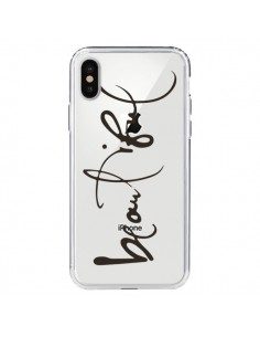 Coque iPhone X et XS Beautiful Transparente - Dricia Do