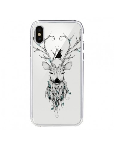 coque cerf iphone 8