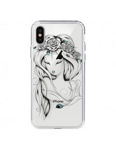 Coque Princesse Poétique Gypsy Transparente pour iPhone X - LouJah