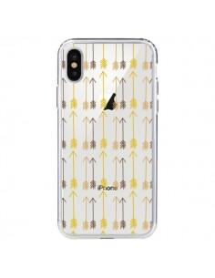 Coque Fleche Arrow Transparente pour iPhone X - Petit Griffin