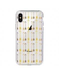 Coque iPhone X et XS Fleche Arrow Transparente - Petit Griffin