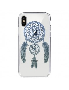 Coque Attrape-rêves Double Transparente pour iPhone X - Rachel Caldwell