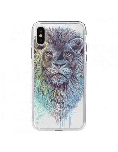 iphone xs coque roi lion