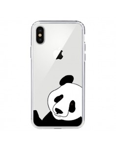 Coque iPhone X et XS Panda Transparente - Yohan B.