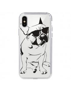 Coque Chien Bulldog Dog Transparente pour iPhone X et XS - Yohan B.