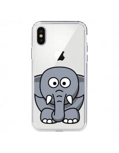 Coque Elephant Animal Transparente pour iPhone X et XS - Yohan B.