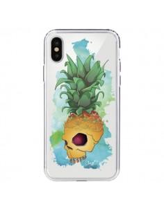 Coque Crananas Crane Ananas Transparente pour iPhone X - Chapo