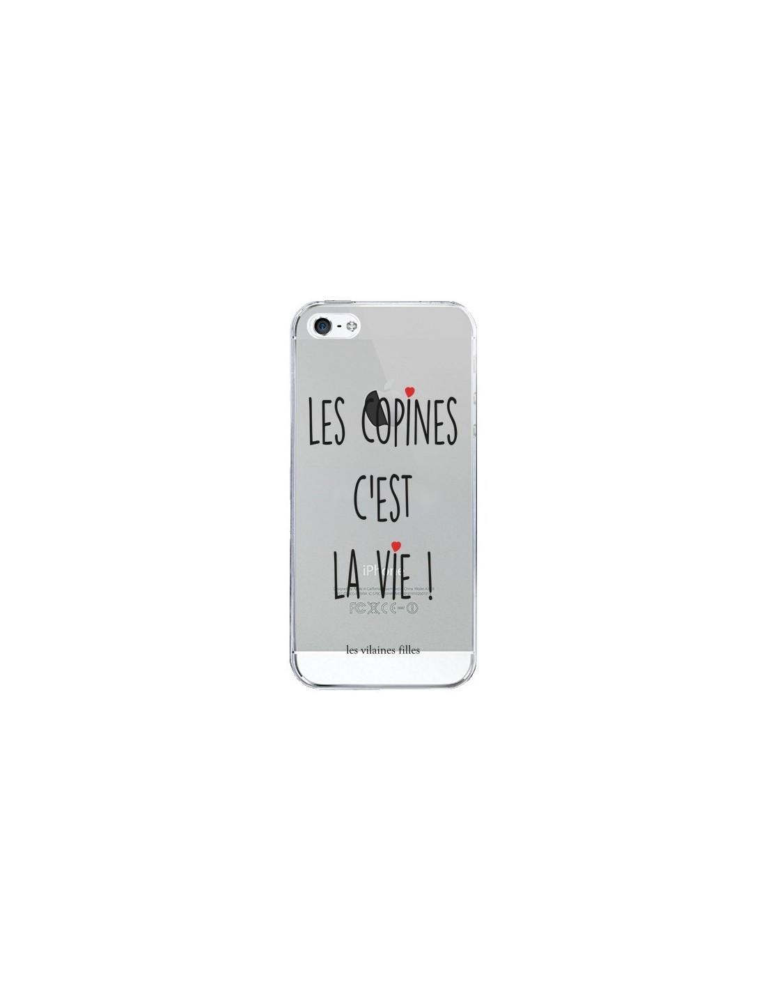 iphone 5 coque transparente