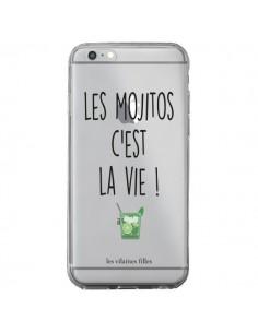 Coque iPhone 6 Plus et 6S Plus Les Mojitos, c'est la vie Transparente - Les Vilaines Filles