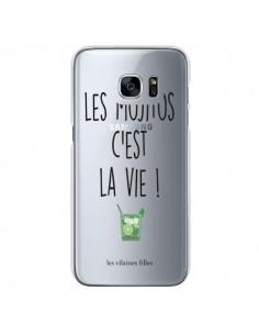 Coque Les Mojitos, c'est la vie Transparente pour Samsung Galaxy S7 - Les Vilaines Filles