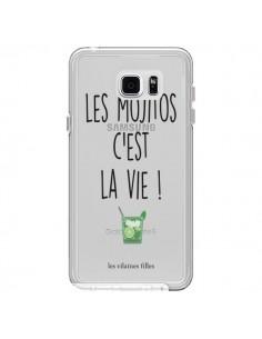 Coque Les Mojitos, c'est la vie Transparente pour Samsung Galaxy Note 5 - Les Vilaines Filles