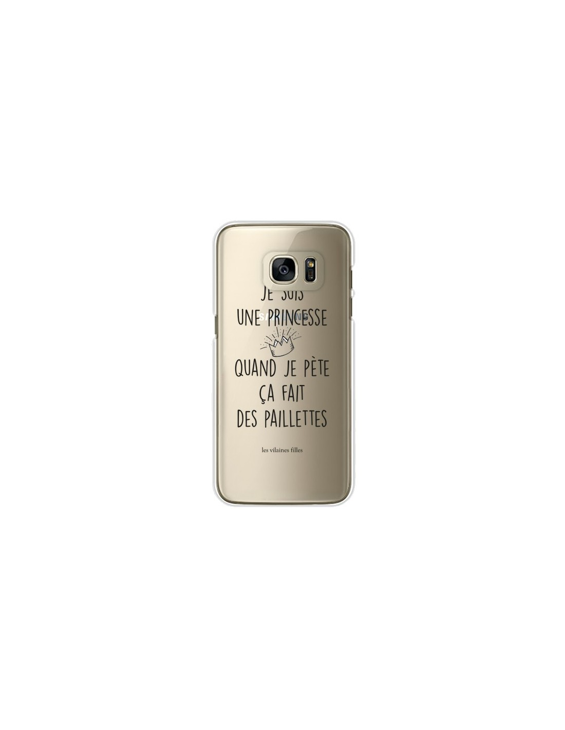 coque silicone paillette samsung galaxy s6 edge