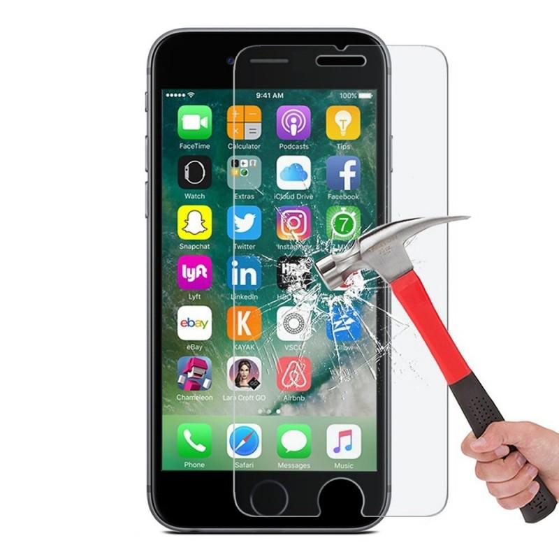 Film en verre trempé Anti-Casse Anti-Explosion Avant pour iPhone 7 et 8