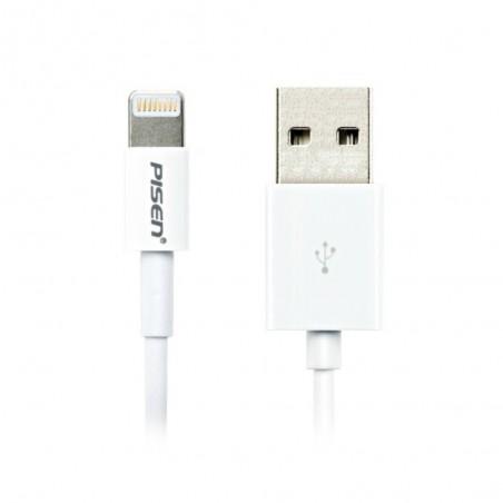 Cable USB Lightning 1m pour iPhone 6/6S, 6 Plus/6S Plus, 5/5S, 5C, iPad Mini, iPad 4, iPad Air, iPod Nano