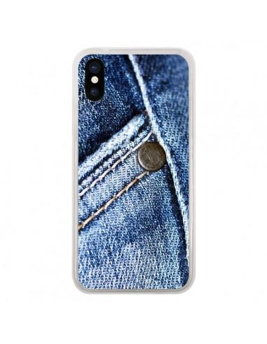 coque jean iphone x