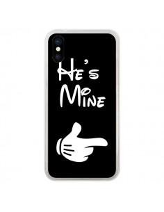 Coque He's Mine Il est à Moi Amour Amoureux pour iPhone X - Laetitia