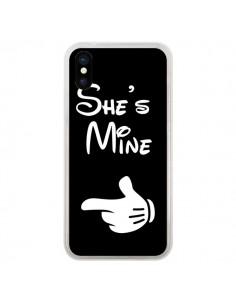 Coque She's Mine Elle est à Moi Amour Amoureux pour iPhone X - Laetitia