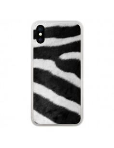 Coque Zebre Zebra pour iPhone X - Laetitia
