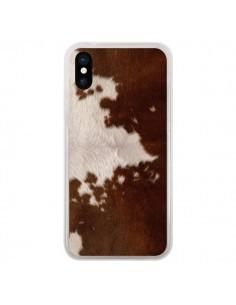 Coque Vache Cow pour iPhone X - Laetitia