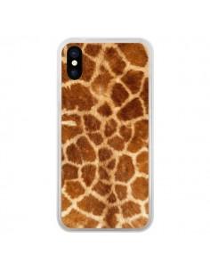 Coque Giraffe Girafe pour iPhone X - Laetitia