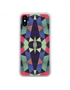 Coque Azteque Cristals pour iPhone X et XS - Maximilian San