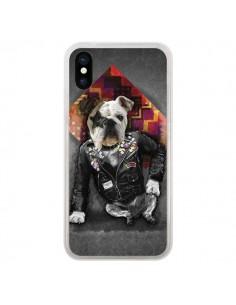 Coque Chien Bad Dog pour iPhone X et XS - Maximilian San