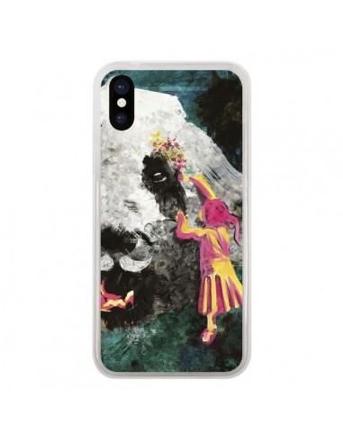 Coque iPhone X et XS Panda...