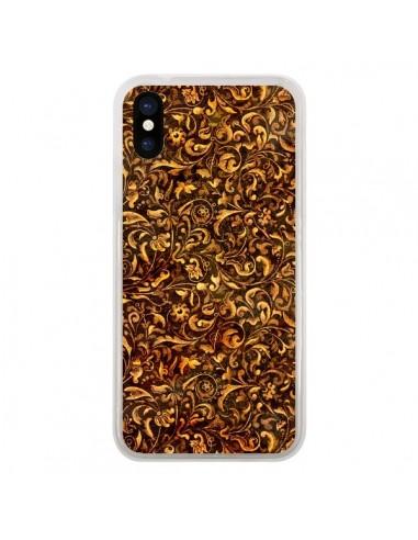 Coque iPhone X et XS Belle Epoque Fleur Vintage - Maximilian San