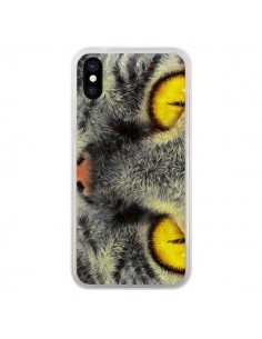 Coque Chat Gato Loco pour iPhone X et XS - Maximilian San