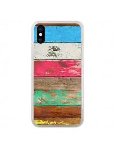 Coque Eco Fashion Bois pour iPhone X et XS - Maximilian San