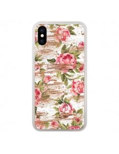 Coque Eco Love Pattern Bois Fleur pour iPhone X et XS - Maximilian San