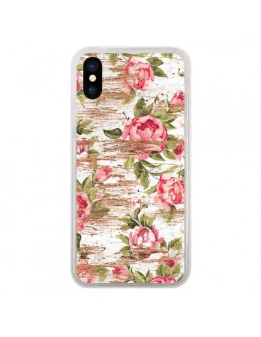 Coque iPhone X et XS Eco Love Pattern...