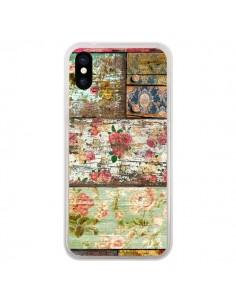 Coque Lady Rococo Bois Fleur pour iPhone X et XS - Maximilian San