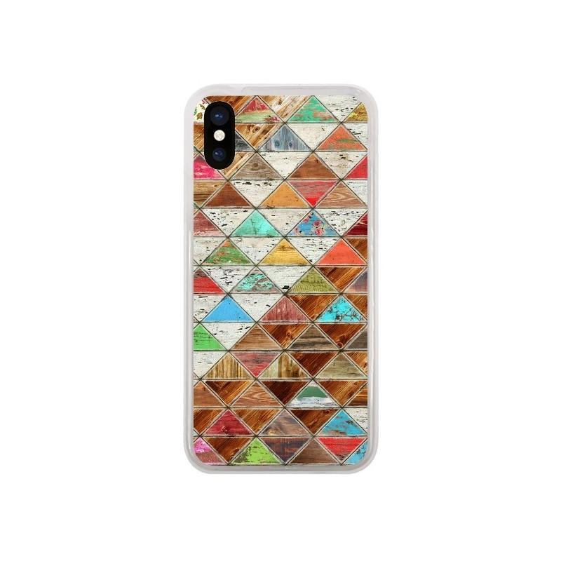 Coque iPhone X et XS Love Pattern...