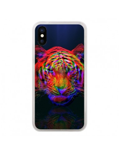 Coque iPhone X et XS Tigre Beautiful...