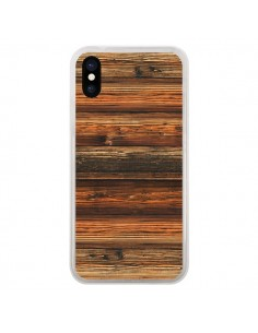 Coque iPhone X et XS Style Bois Buena Madera - Maximilian San