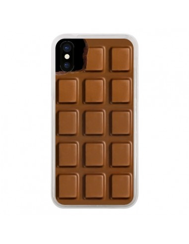 Coque iPhone X et XS Chocolat -...