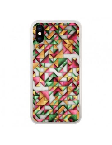 Coque iPhone X et XS Azteque Triangle...