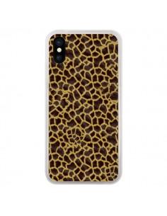 Coque iPhone X et XS Girafe - Maximilian San