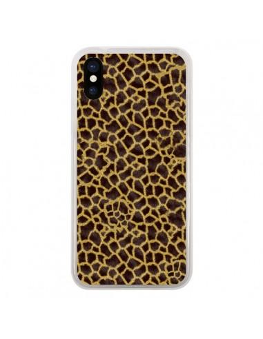 Coque iPhone X et XS Girafe -...