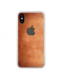 Coque iPhone X et XS Style Cuir - Maximilian San