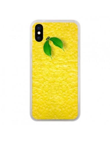 Coque iPhone X et XS Citron Lemon -...