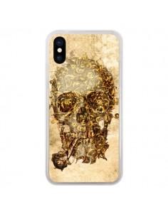 Coque iPhone X et XS Lord Skull Seigneur Tête de Mort Crane - Maximilian San