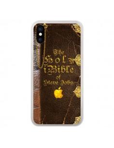 Coque iPhone X et XS Livre de Steve Jobs - Maximilian San