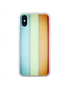 Coque iPhone X et XS Lignes Verticales Geometric - Maximilian San