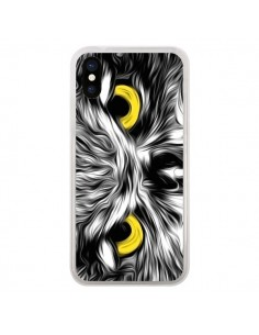 Coque iPhone X et XS The Sudden Awakening of Nature Chouette - Maximilian San