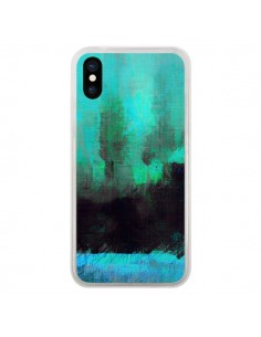 Coque iPhone X et XS Paysage Lysergic Horizon - Maximilian San