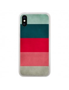 Coque iPhone X et XS Bandes New York City Hues - Maximilian San