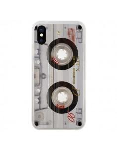 Coque iPhone X et XS Cassette Transparente K7 - Maximilian San